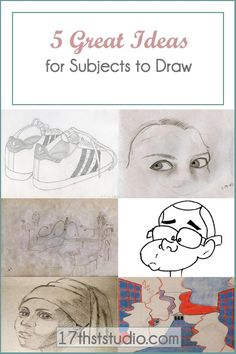 Ever get stuck wondering what to draw that you haven't already? Stop by and check out some new ideas!