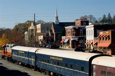 Blue Ridge, GA - Scenic Train