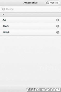 TopQM Automotive  Android App - playslack.com , TopQM Automotive ist ein Nachschlagewerk für Begriffeim Qualitätsmanagement im Bereich der Automobilzulieferer