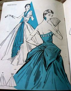 RARE VTG 1950s MODES ROYALE SEWING PATTERN CATALOG 1956 in Collectibles | eBay