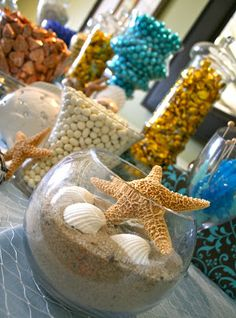 mermaid candy table