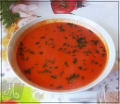 Rzekłabym, przepis idealny dla wielbicieli pomidorówek (jestem jednym z nich :D). Zapraszam na bloga po szczegóły...  #kremowazupapomidorowa Recipes, Food, Rezepte, Essen, Recipe, Yemek, Cooking Recipes, Meals