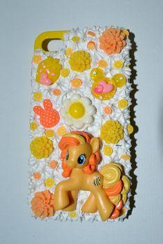 My Little Pony  Decoden Iphone 4 case. $20.00, via Etsy.