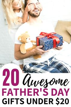 Best Gifts For Dad under $20. These cheap Fathers Day gifts from kids are perfect for showing your dad you care about him, without spending a ton of money. Check out these Father's Day gifts 5nder 20 for unique gift ideas for dad!