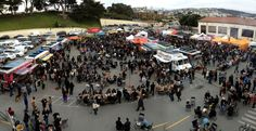 Off the Grid at Fort Mason in San Francisco.