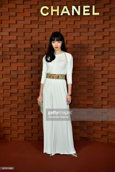 Nana Komatsu arrives for the Chanel - Collection Metiers d'Art Paris Hamburg 2017/18 at The Elbphilharmonie on December 6, 2017 in Hamburg, Germany.
