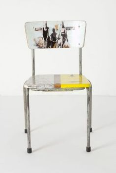Artista Lesson Chair, Beachside - Anthropologie $498 but I think I can do it for a LOT less