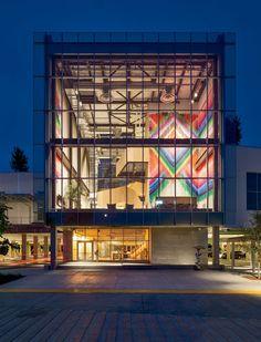 Facebook Building 20 Gehry Partners Future CityFrank GehryArt ExhibitionsBuildingArchitectureFacebookProjectsLighting DesignInterior