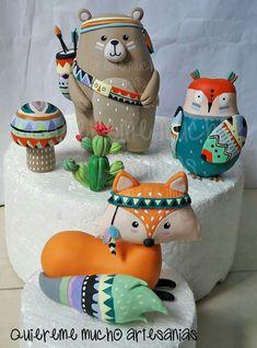 42 Ideas for baby shower boy cake ideas woodland creatures Baby Shower Cakes For Boys, Baby Shower Decorations For Boys, Boy Baby Shower Themes, Baby Boy Shower, Baby Boy Cake Topper, Baby Boy Cakes, Woodland Cake, Woodland Party, Fondant Figures