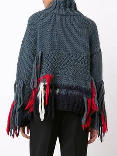 "Christopher Raeburn jersey ""X The Woolmark Company Hand Knit"""