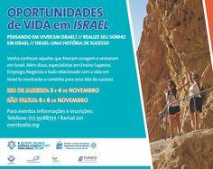 Venha conhecer a maior delegação de especialistas em aliá que o Brasil já recebeu, nos dias 3 e 4 de novembro no Rio de Janeiro e dias 5 e 6 de novembro em São Paulo.
