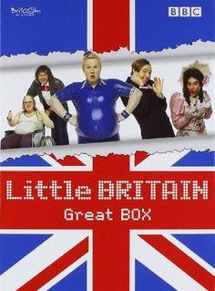 """Little Britain - Great BOX (Die komplette Serie mit den Staffeln 1-3 + Specials """"Abroad"""" und """"Live"""") [8 DVDs] Unbekannt http://www.amazon.de/dp/B001BTPFF4/ref=cm_sw_r_pi_dp_B5o-wb1FYVEM2"""