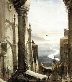 Gormenghast by Alan Lee