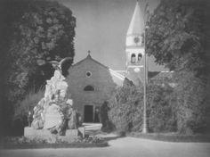 Tadeusz Wański collection / Szuszak, Kościół z pomnikiem / Chorwacja / 30 x 40 cm, bromolej