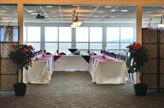 Entrance to one of our culinary competition events hosted aboard MCRD Parris Island.