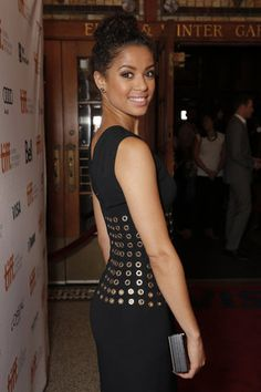 """LOS ANGELES (AP) -- British actress Gugu Mbatha-Raw has had a busy Earlier this year, she starred in """"Belle,"""" based on a true story about a m. Beautiful Gorgeous, Most Beautiful Women, Mbatha Raw, Black Goddess, Natural Hair Inspiration, African American Women, African Beauty, Celebrity Hairstyles, Beautiful Actresses"""