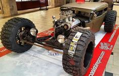 Rat rod with off road tires