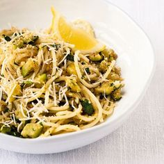 Spaghetti with Courgette
