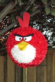 Cindy deRosier: My Creative Life: DIY Angry Bird Piñata
