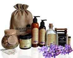 Lavender Body Care Gift Set
