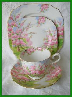 Vintage Royal Albert Blossom Time