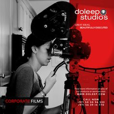 CORPORATE FILMS Making Services. Based on our feature film-making experience, Doleep Studios crafts unique corporate films that redefine clients' expectations and are recognized for excellence. #inspirationalquotes #domore #dubai #abudhabi #uae  www.doleep.com/