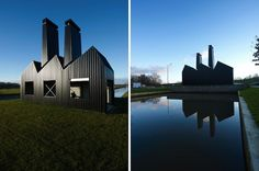 Little Dutch Factory Crafted From Corrugated Steel  (8)    I really need to live here!!