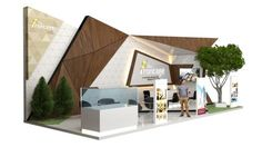 The Frontage - Exhibition 2 Exhibition Stall, Exhibition Stand Design, Exhibition Display, Display Design, Wall Design, Kiosk Design, Digital Signage, Expo Stand, Architecture Model Making