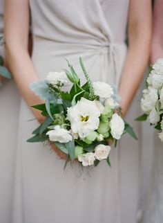 Photo: Mandy Busby | Florals: Mandy Busby - small bridesmaids bouquet