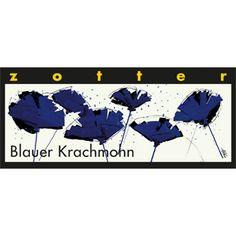 zotter Schokoladen Manufaktur: Blauer Krach Mohn