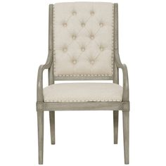 Bernhardt Marquesa Arm Chair with Upholstered Seat
