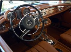 Mercedes Benz Interior, Mercedes Benz Coupe, Old Mercedes, Mercedes S Class, Classic Mercedes, Classic Motors, Classic Cars, Maybach, Old Cars