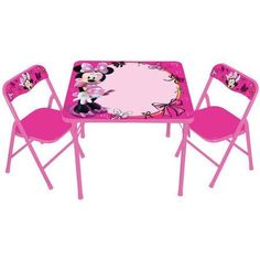 Disney Mickey Amp Friends Activity Table And Chairs Set