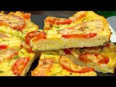 Lehká cuketová pizza s rajčaty a sýrem. Každý si tenhle recept hned oblíbí!| Chutný TV - YouTube Vegetarian Recepies, Hawaiian Pizza, Fresh Rolls, Quiche, Sushi, Vegetables, Breakfast, Ethnic Recipes, Food
