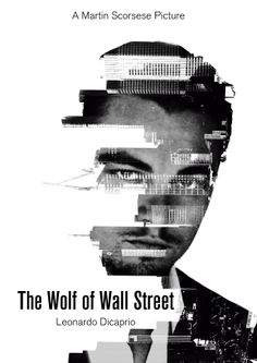The wolf of wall street photographic style poster by Víctor García Pastor
