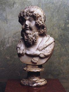 ...Dionysus  Ancient Rome, 1st century BC  Roman copy from a Greek original Hermitage