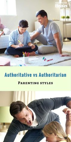 Authoritative vs Authoritarian Parenting Styles [Infographic] - Parenting For Brain Parenting Toddlers, Parenting Styles, Parenting Teens, Parenting Advice, Foster Parenting, Natural Parenting, Peaceful Parenting, Gentle Parenting, New Parent Advice