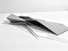 A series of conceptual abstraction models exploring movement, materials, mass, light, and shadow.
