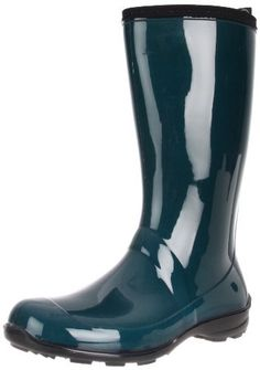 """Kamik Womens Heidi Rain Boot Kamik. $32.60. Synthetic. Shaft measures approximately 11"""" from arch. Heel measures approximately 1"""". Boot opening measures approximately 13"""" around. rubber. Rubber sole"""