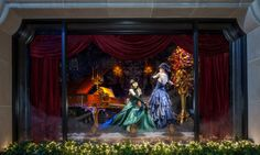 Experience the glamorous holiday windows at our 888 Madison Avenue store