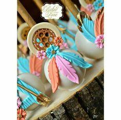 Dream-catcher cakepops