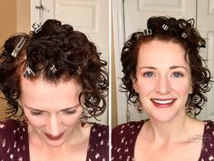 Top 4 Curly Hair Tips for Volume - My Merry Messy Life - use root clips! - Hair -My Top 4 Curly Hair Tips for Volume - My Merry Messy Life - use root clips! Thin Curly Hair, Curly Hair Tips, Curly Hair Care, Curly Hair Styles, Natural Hair Styles, Caring For Curly Hair, Style Curly Hair, Short Natural Curly Hair, Curly Short