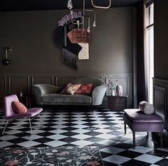 love violet and brown! Home and Delicious: COLOURS AND MORE COLOURS – WHY NOT?