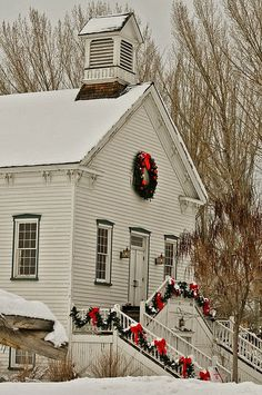 Country Christmas Church