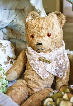 ballerina67:  Vintage Teddy Bear