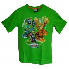 T-shirt skylanders giants - vert