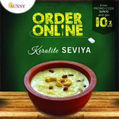 ORDER ONLINE & GET 10% OFF Website - www.hotelsunny.in For reservation:2522-5616/3549  #hotelsunny #tasteofmumbai #offer #keralafood #tasteofkerala #keralasweets #nonveg #mumbai #mymumbai #seviya #foodie #yum #yummy #orderonline #homedelivery #delivery #fooddelivery #zomato #kerala #tastyfood #keralaseviya #bandra #dadar #kurla #tasty