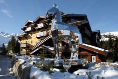 Bernard Arnault, the CEO of LVMH, is not known for taking foolish risks. So when he decided to give the hotel business a try with the ultra-luxe Cheval Blanc Courchevel, he set his sights on Courchevel's most glamorous zip code, Le Jardin Alpin. Its north-facing slopes are among the best, its network of ski lifts the most efficient, and its habitués the most monied in all of Europe.