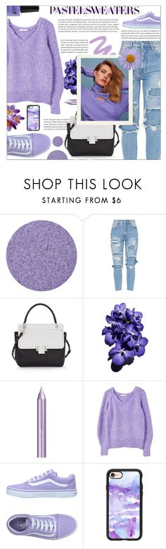 """Paste Sweaters; Lilac Lily"" by mariiaax ❤ liked on Polyvore featuring Lanvin, Isadora, MANGO, Vans, Casetify and CND"