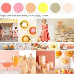 Love this website...you click on any color and up pops a whole bunch of complementary colors that go with it, mostly for weddings, but I could see it working for a whole bunch of events or house ideas!